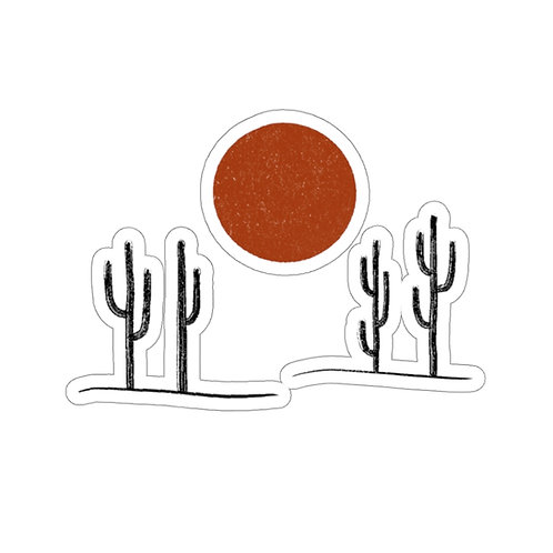 Saguaros Sticker
