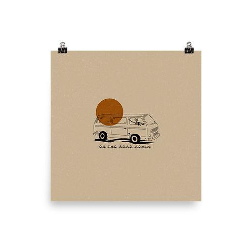 Weekend Van Print