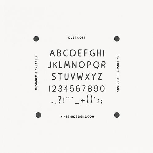Dusty Font