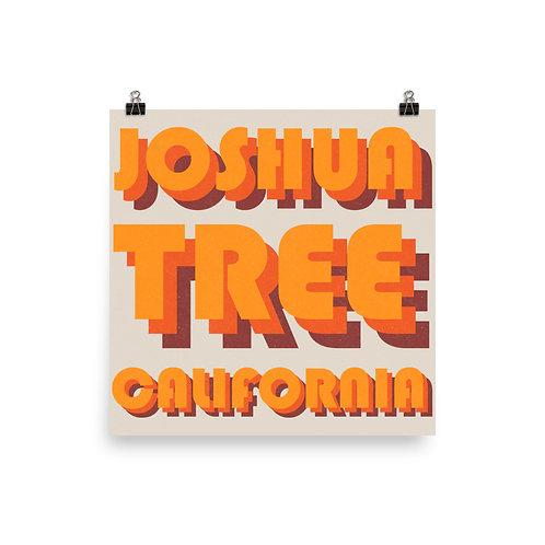Joshua Tree, California Print