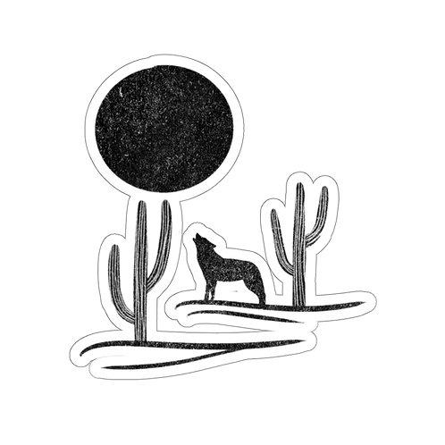 Wolf Sticker