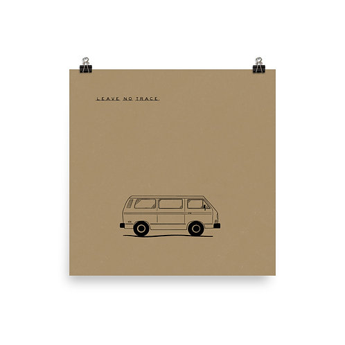 Leave No Trace Van Print