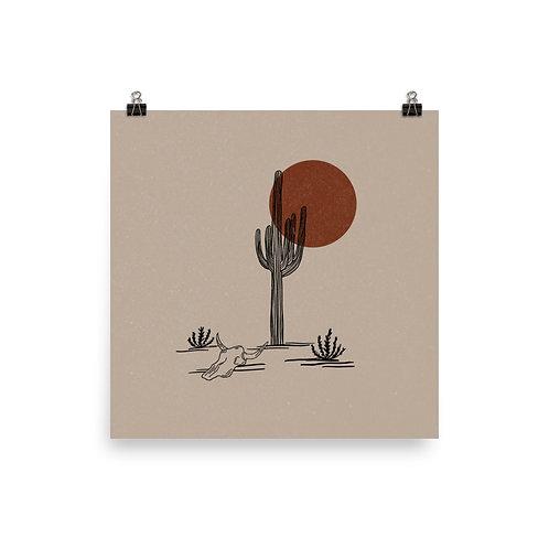 Saguaro, Red Sun