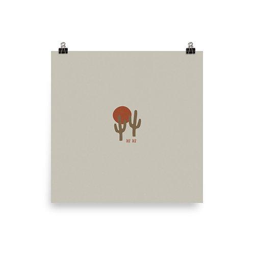 Saguaro Print