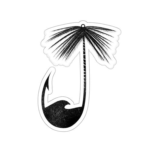 Hook and Palm Sticker