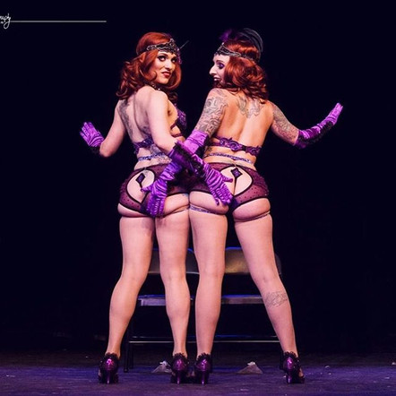 Conjoined Twins Duet with Valerie Veils