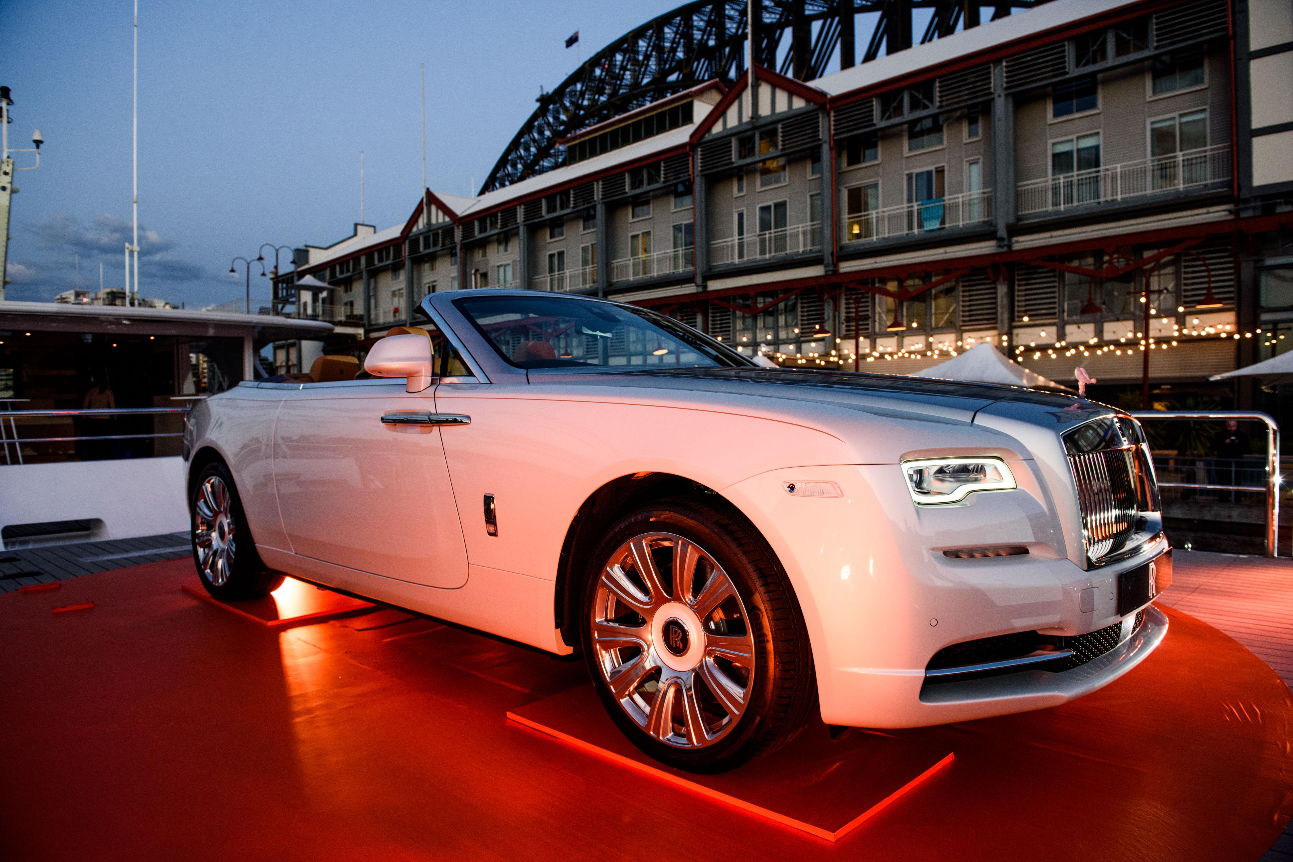 Rolls-Royce Dawn Launch
