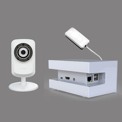 Komplett system grunnpakke, HUB, kamera, sensor, mobildata, digitalt dashboard