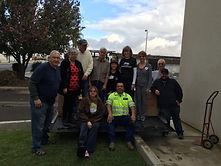 OCC Shoebox transport team