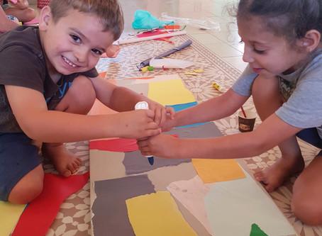 אסקפיזם עכשיו - יצירה עם הילדים