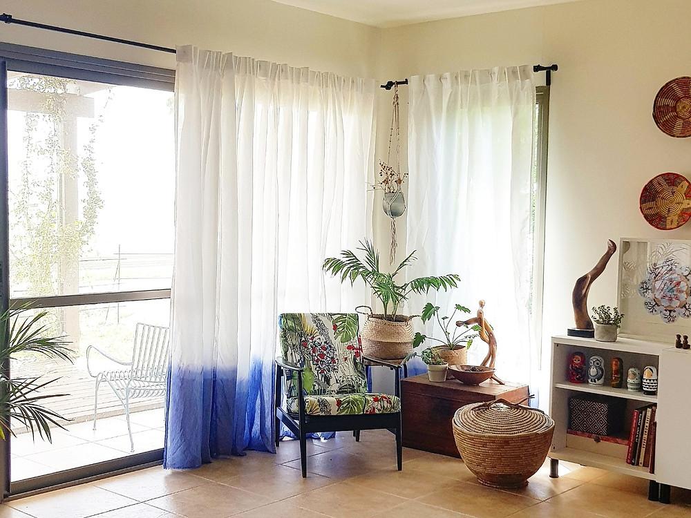 הווילונות ששדרגו לי את הסלון