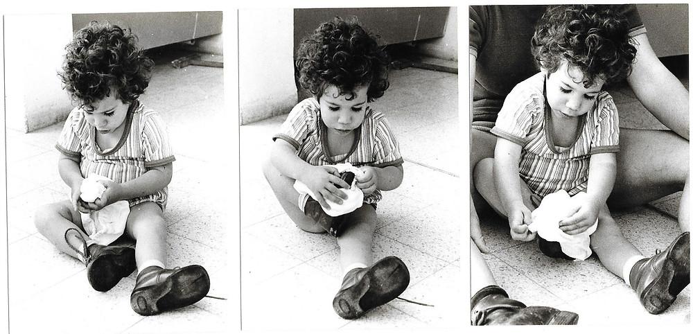 סדרת תמונות קרן נועלת נעליים צילום יוסי משה
