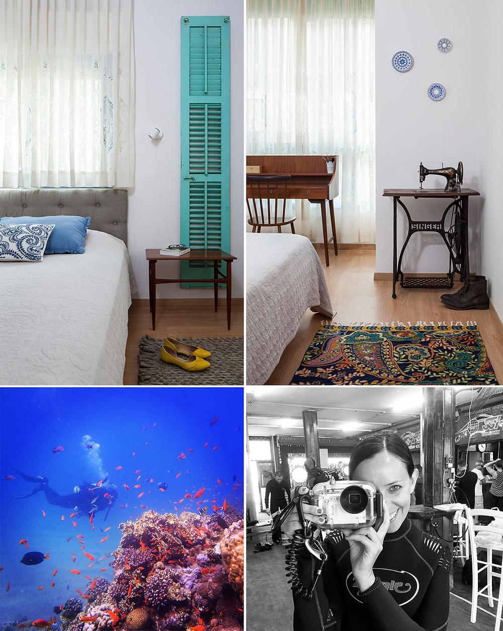 תמונות של בית סיון קונוולינה צילום חדר שינה: טל ניסים