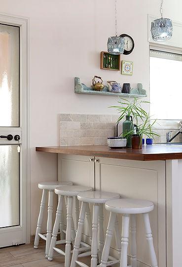 אי במטבח מלוח עץ בוצ'ר. צילום הגר דופלט.
