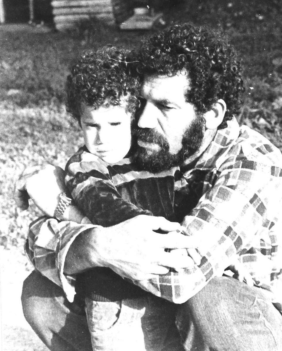 תמונה משפחתית אני ואבא שלי צלם לא ידוע