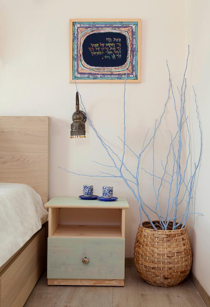 פינה בחדר השינה עיצוב קרן אורן צילום הגר דופלט