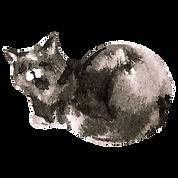 Watercolor Cat 6