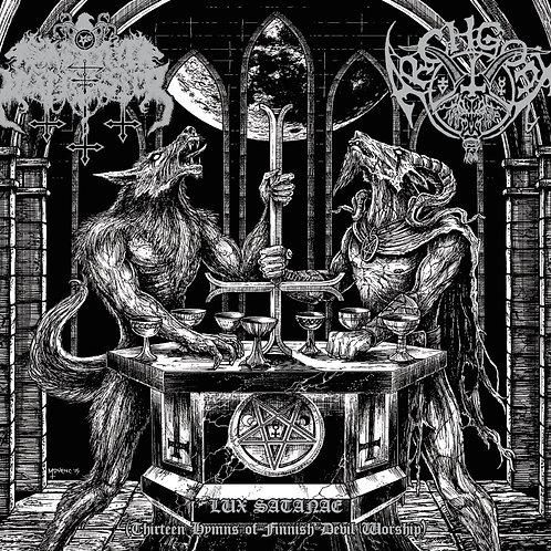 LP Satanic Warmaster / Archgoat - Lux Satanae (Thirteen Hymns Of Finnish...