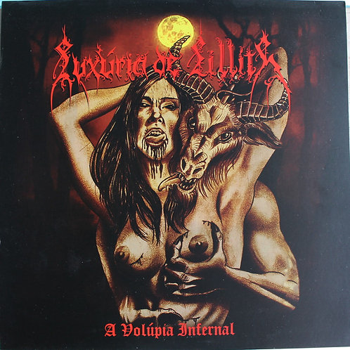 CD Luxúria De Lillith - A Volúpia Infernal