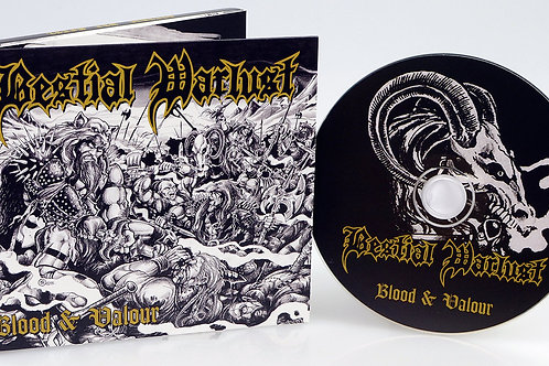 CD Bestial Warlust - Blood And Valour