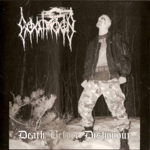 CD Goatmoon - Death Before Dishonour