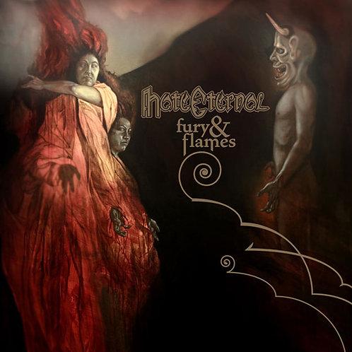 CD Hate Eternal - Fury & Flames
