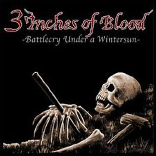 LP 3 Inches of Blood - Battlecry Under A Wintersun