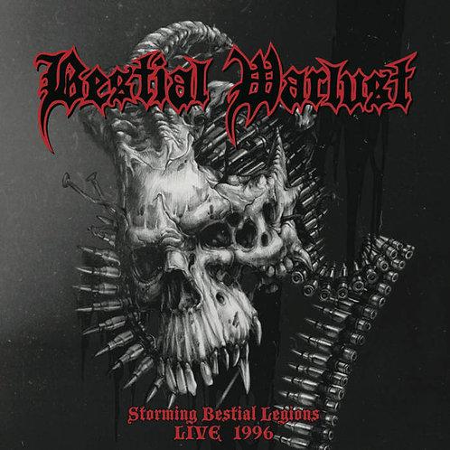 CD Bestial Warlust - Storming Bestial Legions Live '96
