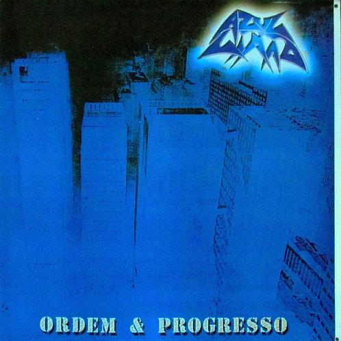 LP Azul Limão - Ordem e Progresso