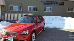 BMW orange done