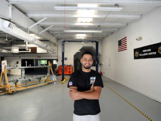 "New Age Collision was featured in ""The News Times""! ""Auto repair shop's goal: To"