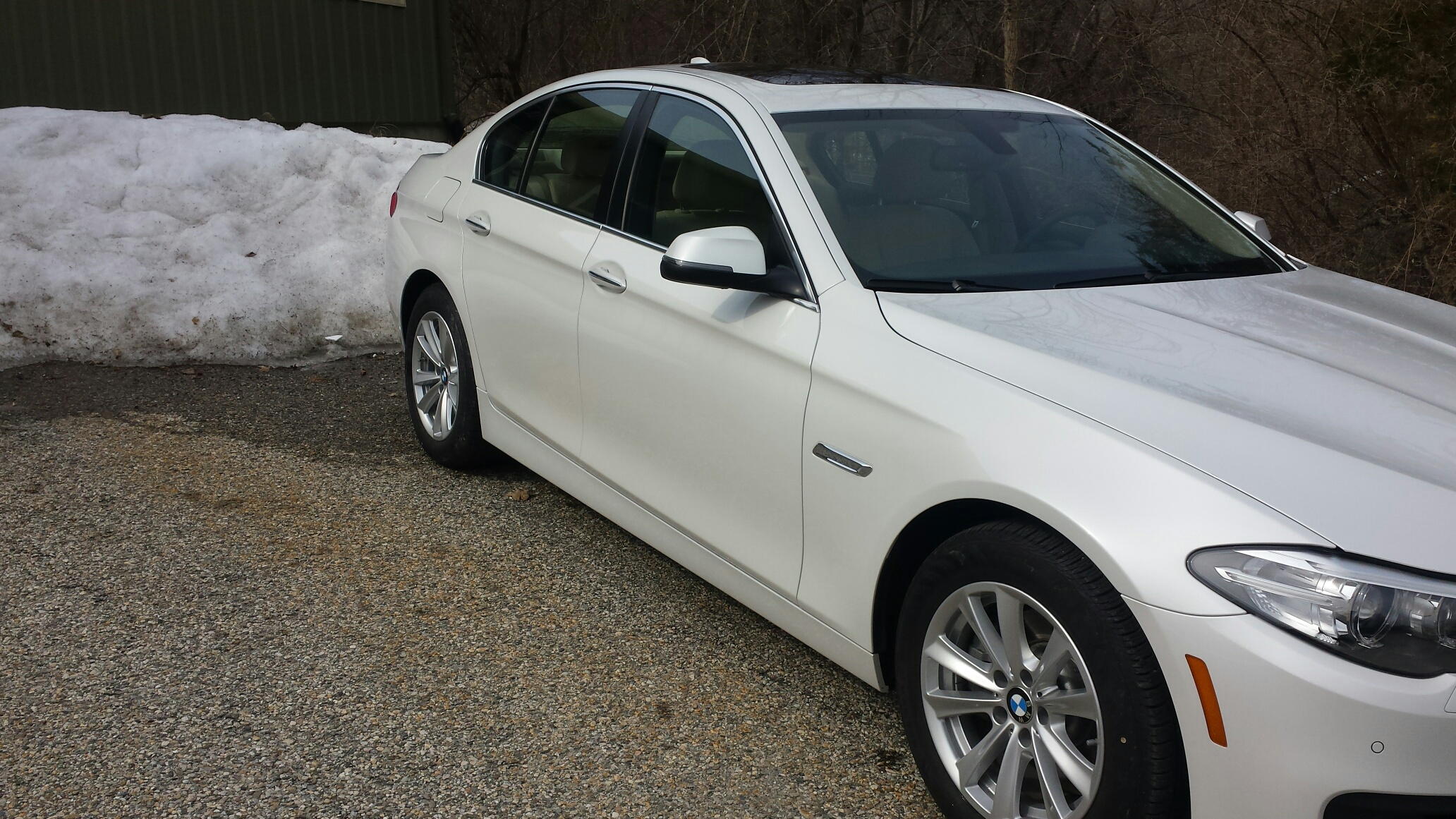 BMW white done
