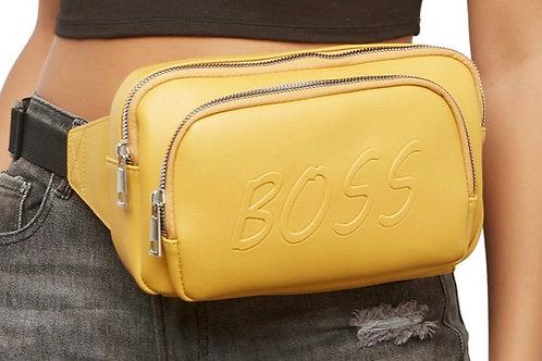 Boss Fanny pack (mustard)