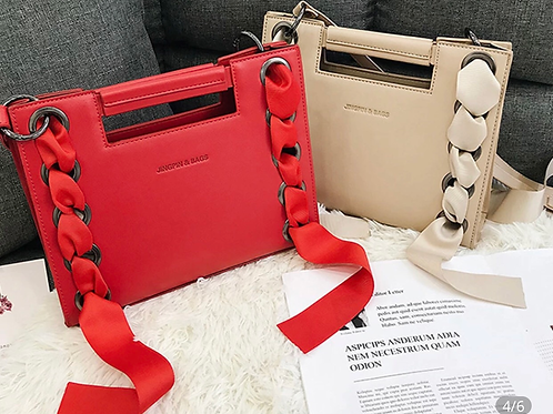 Fashion Ribbon Bag (Red)