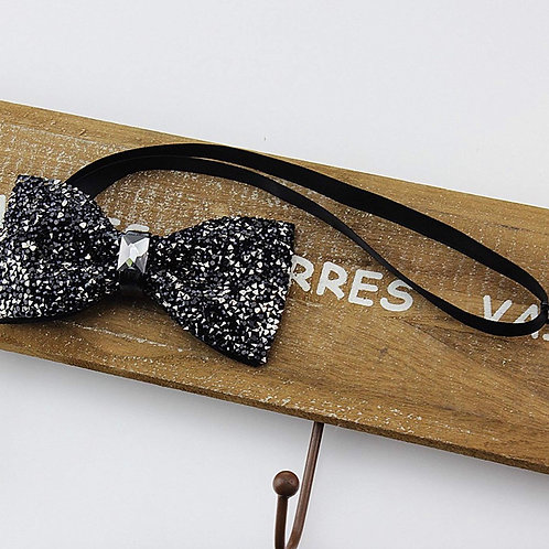 Fashion bow tie (black)