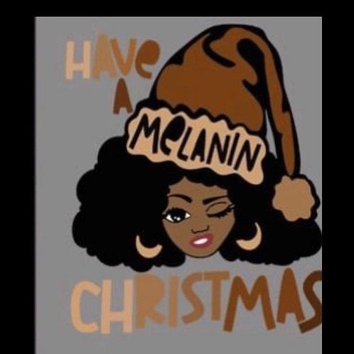 Melanin Christmas 2 Shirt