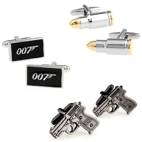 007 Men's Cuff Link Set
