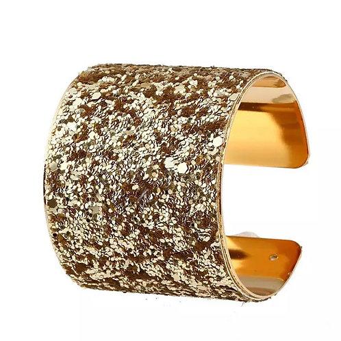 Vintage gold cuff