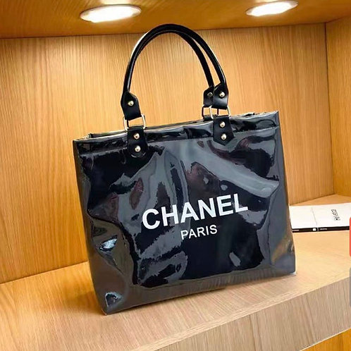 Black Chanel Tote
