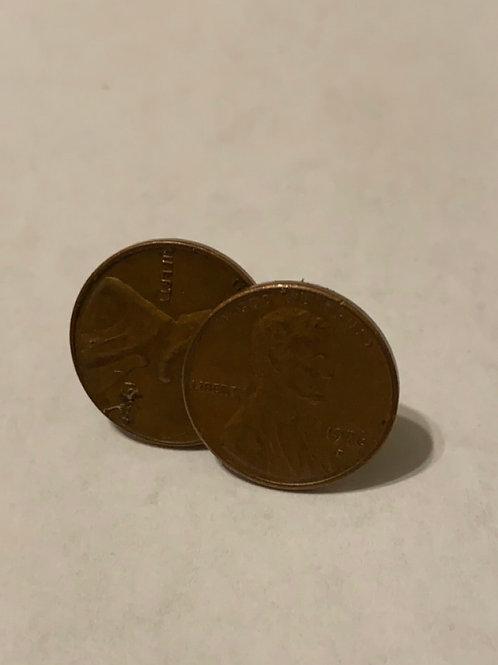 Penny Cuff Links