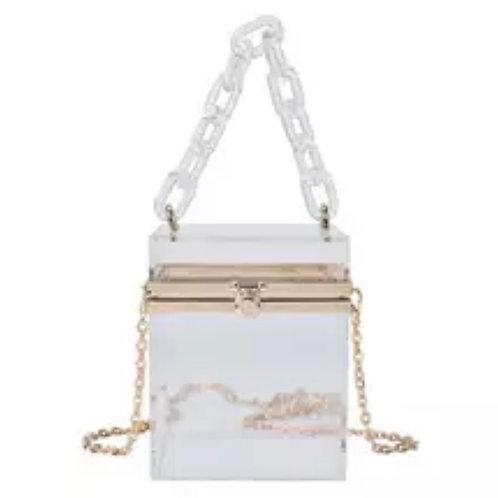 White box purse