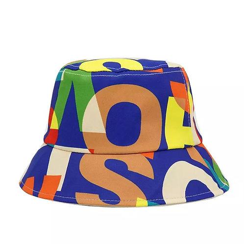Multicolor bucket hat