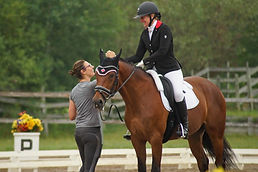sophie lehoux_para-dressage athlete and