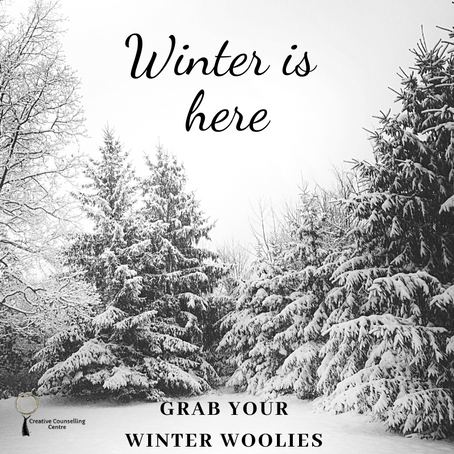 Winter is here - Grab Your Winter Woolies