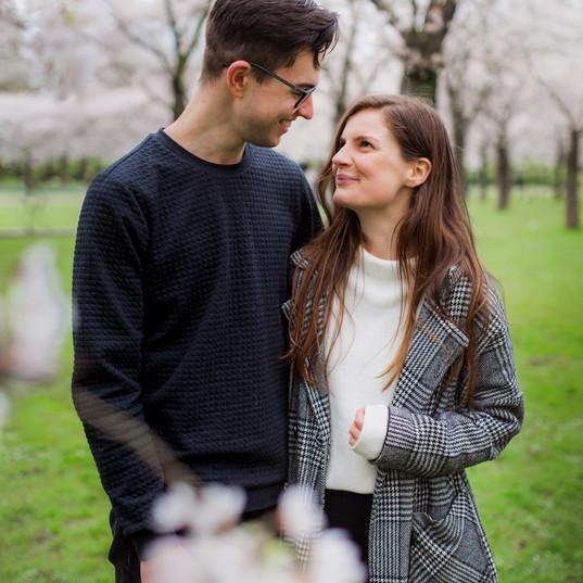 Cherry Blossom Couple