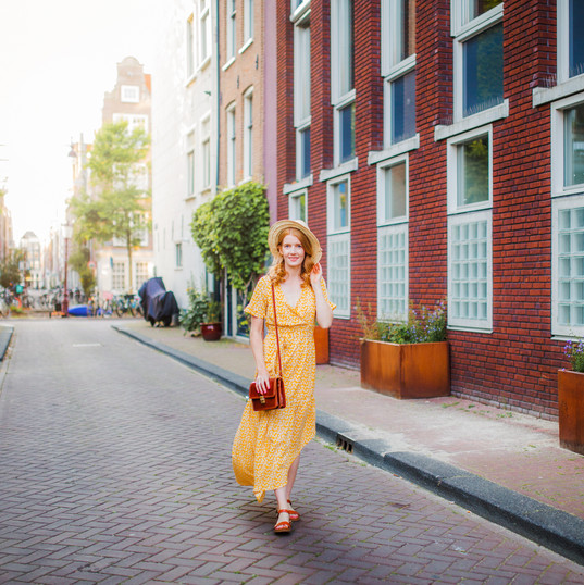 Photoshoot in Amsterdam