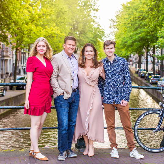 Family Portrait in Amsterdam