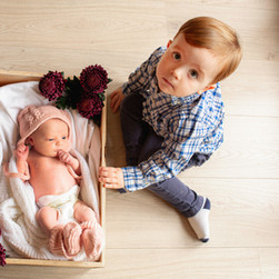 Big Brother and Baby in a Box