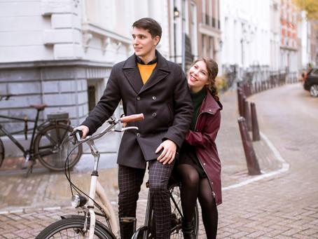 Couple's Photoshoot in Amsterdam   Sofia & Phil