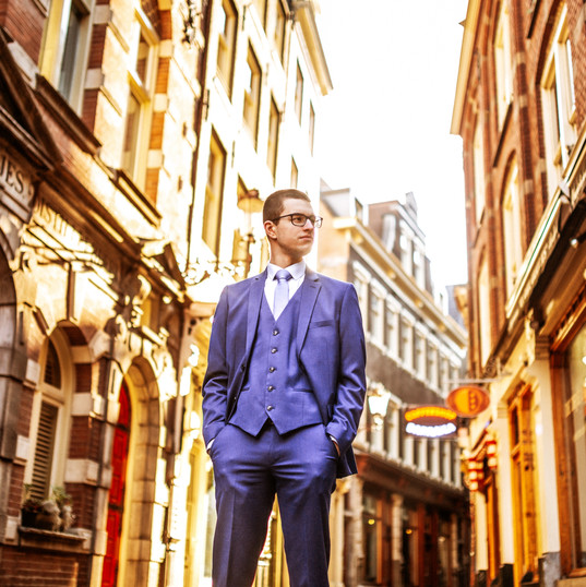 Solo Male Photoshoot in Amsterdam